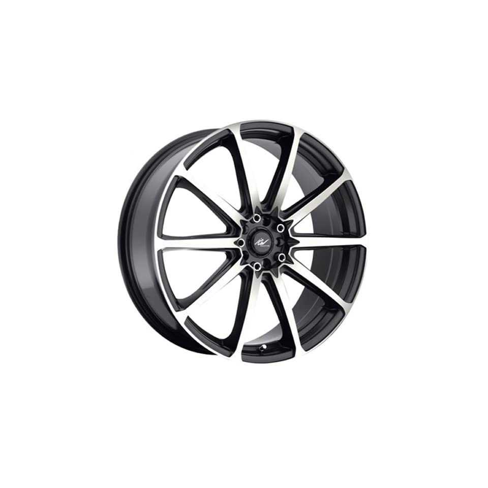 ICW Banshee 20 Machined Black Wheel / Rim 5x100 & 5x4.5 with a 45mm Offset and a 73 Hub Bore. Partnumber 215MB 2751845