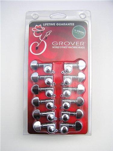 Mini Rotomatic Guitar Tuners (Grover Mini Rotomatics 205C12 Guitar Tuner/Machines)