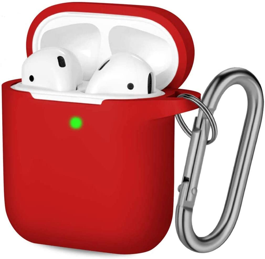 red airpods case cover
