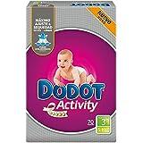 DODOT Activity pañales 5-10 kgs talla 3 paquete 70 uds
