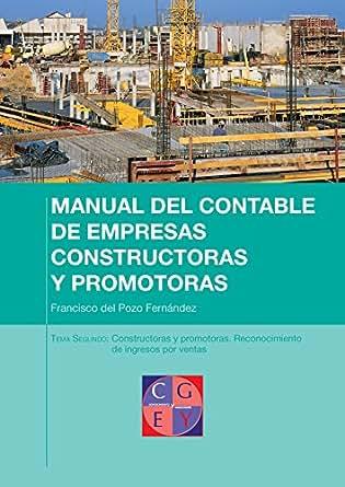(Manual del contable de empresas constructoras y promotoras