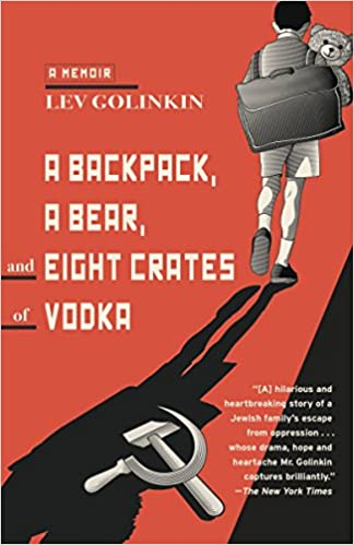 Image result for a backpack a bear and eight crates of vodka