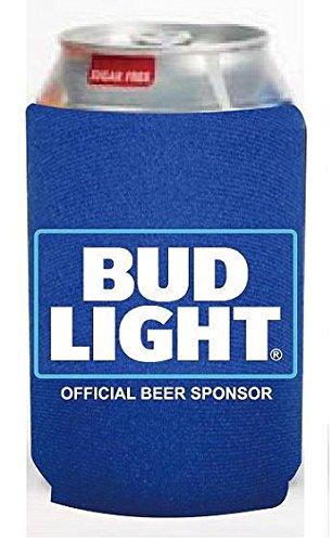 Bud Light NFL 12ozビールCan CoolerホルダーKaddy Coolieハギー B06XG23M6X
