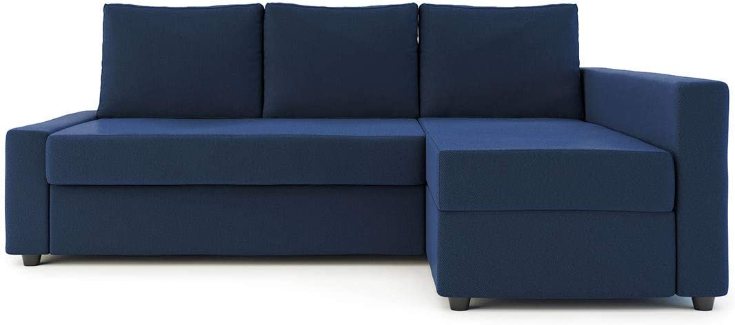 Snug Fit Cover for IKEA Friheten with Chaise Corner Sofa Bed,Cotton Fabric  Sleeper Slipcover