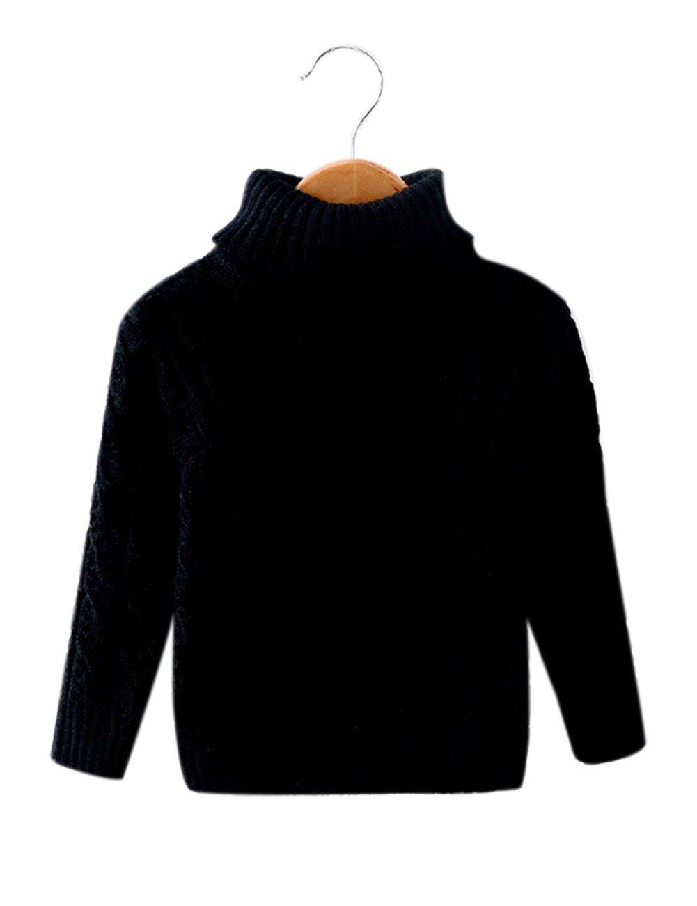 Jersey de lana - Diseño Flores - Niño, Niña, blanco, 90 cm Zantec