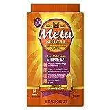 Metamucil Orange Sugar Smooth Texture Powder, 114-dose (Pack of 3)