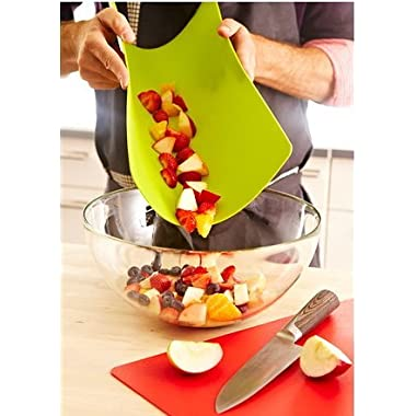 IKEA DRALLA Red & Green Bendable Chopping Board (Set of 2)