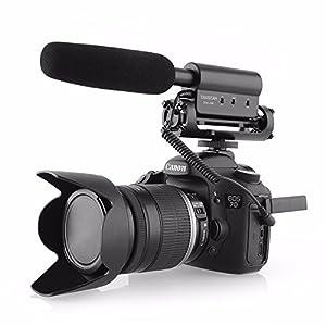 ATian SGC-598 Recording MIC Microphone for Nikon Canon Camera Camcorder Dslr from ATian