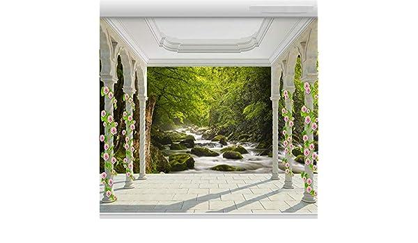 Grandes cuadros baratos Gran fondo de pantalla 3D Terraza ...