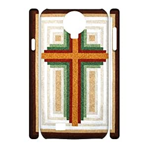 3D Samsung Galaxy S4 Cases Shock Absorbent Looking for your next project You're going to love Log Cabin built Christian Cross, Christian Cross Samsung Galaxy S4 Case Cute [White]