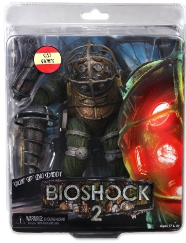 NECA Bioshock 2 Series 3 Ultra Deluxe LIGHT UP Action Figure Big Daddy (Bioshock Big Daddy Ultra Deluxe Action Figure)