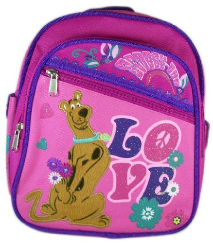 Scooby Doo ''Peace & Love'' 10'' Mini Backpack (Daypack) by Scooby Doo