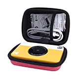 Hard Case for Kodak Printomatic Instant Print Camera fits ZINK 2x3' Sticky-Backed Paper with Neck Strap by Aenllosi