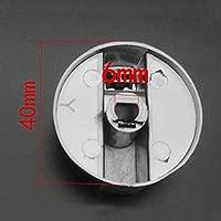 6pcs Metal 6mm Universal Silver Gas Estufa Control Perillas ...