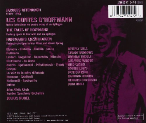 Offenbach: The Tales of Hoffmann: Complete Opera (with full libretto and translation)
