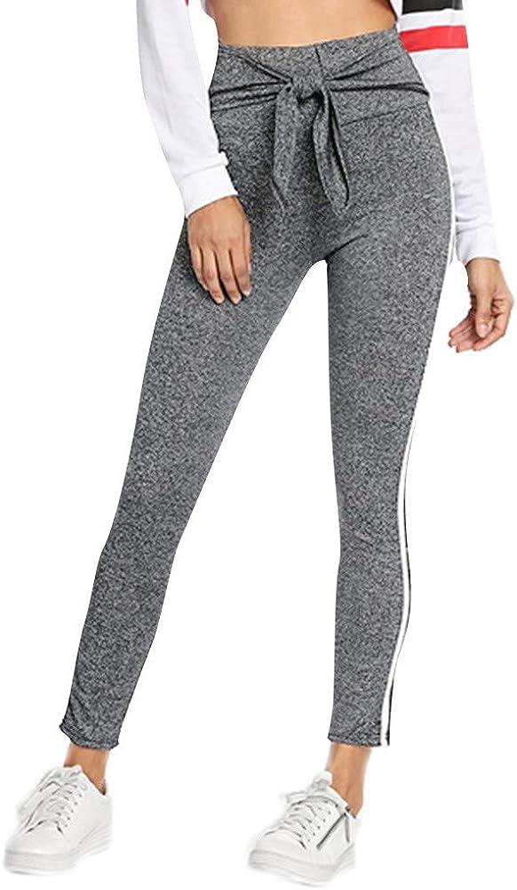 asdkfh Pantalones de Yoga de Algodón para Mujer Pantalones de ...