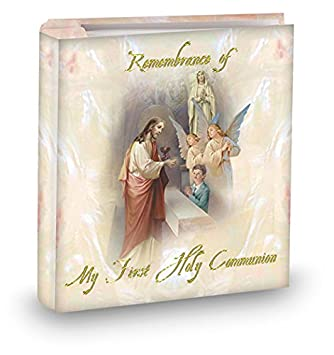 Amazoncom My First Holy Communion Boys Pearlized 4x6 Photo Album