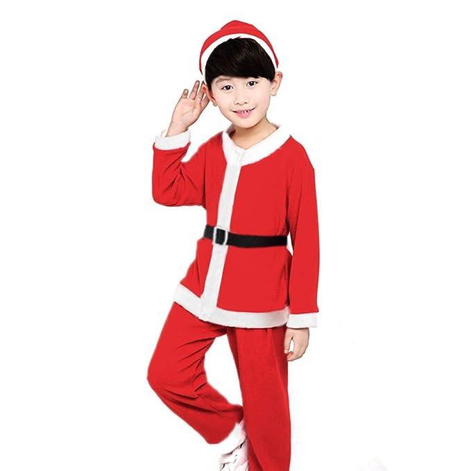 Vococal® Traje de Santa,Ropa de Disfraces Navidad Set ...