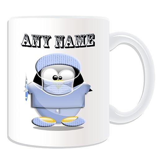 De regalo con mensaje personalizado - cúter de cirujano con taza ...