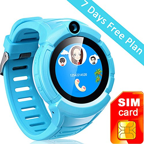Anti lost Pedometer Wristwatch Smartwatch Blue product image
