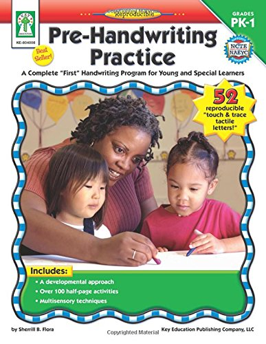 """Pre-Handwriting Practice, Grades PK - 1: A Complete """"First"""" Handwriting Program for Young and Special Learners (Slow Learner compare prices)"""