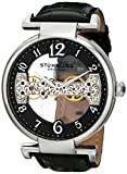 Stuhrling Original Men's 667.01 Legacy Analog Display Mechanical Hand Wind Black Watch