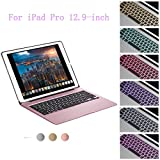 Best Accessory Power Wireless Keyboards - iPad Pro 12.9 Bluetooth Keyboard Case,Nasion.V 7 Colors Review