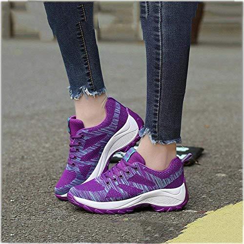Chaussures Plein Coréenne AirMarche Baskets Pour FemmeSurélévation De En FemmesVersion DécontractéescouleurBTaille37D RandonnéeSport uXiPkOZT