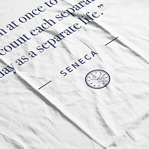 Live Time Women's Begin Quote Hooded Once White Sweatshirt To Seneca At Stoic Yqc8ndY