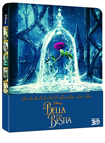 La Bella e La Bestia - Live Action (Steelbook) (2 Blu-Ray) [Italia] [Blu-ray]