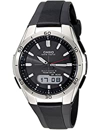 Men's WVA-M640-1ACR Wave Ceptor Stainless Steel...