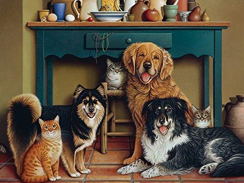 Cobble Hill Family Portrait Jigsaw Puzzle, 275-Piece