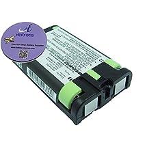 700mAh Battery For Panasonic KX-TGA270S, KX-TG5100M, KX-TG5110M, KX-TGA510M by VinTrons