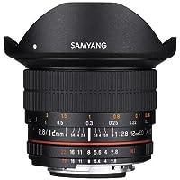 Samyang 12mm F2.8 Full Frame Fisheye, Manual Focus Lens for Canon EOS Mount