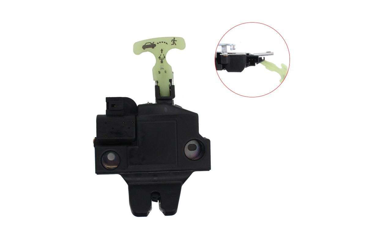 NewYall Trunk Door Lock Actuator Motor Integrated With Latch for Camry w//Keyless Entry