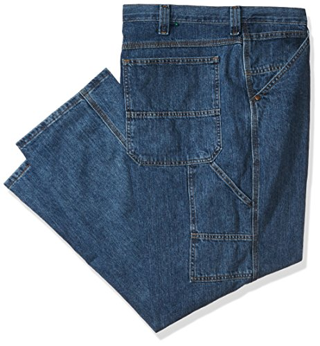 LEE Men's Big and Tall Carpenter Jean, Stonewash, 44W x 32L - Dungarees Carpenter Jean