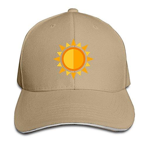 Macevoy Baseball Cap Hot Sun Unisex Sporting Cotton Cap Adjustable Plain Hat Sun Outdoor Snapback Hat Natural