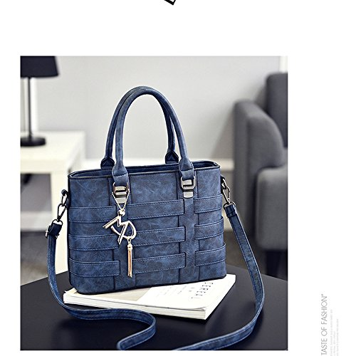 Blue Tout Femmes MIMI Main Sacs Pour Les Sac Mode Designer Satchel Fourre Messenger À Sacs Main KING Mesdames Cuir Bandoulière PU À À BwAqpwt