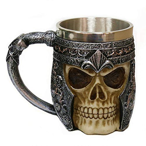 SMKF 3D Stainless Steel Skull