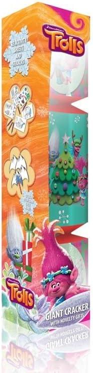 55 cm Trolls R07-0063 Giant Christmas Cracker
