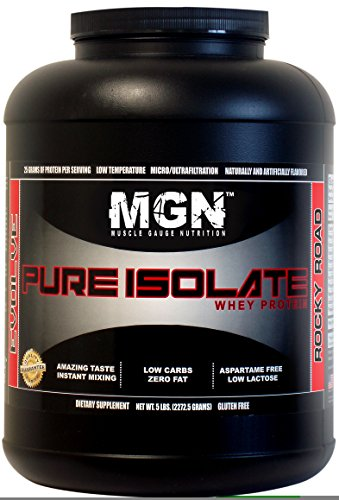 MGN Whey Protein Isolate 5lb Rocky Road