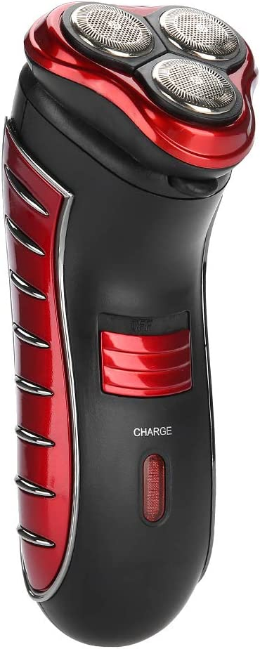 Afeitadora para hombres, afeitadora rotativa flotante 3D, afeitadora eléctrica con recortadora de precisión ...