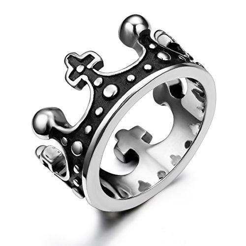 JewelryWe Schmuck Edelstahl Ring