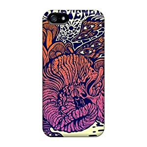 Iphone 5/5s VJG13336Bkbx Unique Design Attractive Strange Magic Skin Perfect Hard Phone Cases -KerryParsons