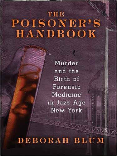 Poisoners handbook epub the