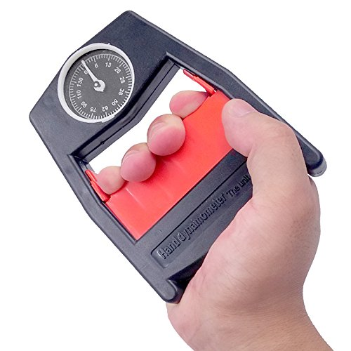 Dhyani Hand Dynamometer Grip Exerciser Device Power Spring Strength Meter