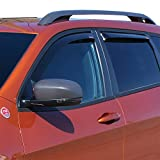 Wade 72-51497 Smoke In-Channel Wind Deflector (4pc)