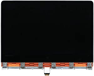 """For Lenovo 13.3"""" QHD+ 3200x1800 IPS LCD Screen LED Display with Touch Digitizer and Orange Cover Cable Hinges Full Complete Assembly 5D10K26886 Yoga 900-13ISK 80MK Yoga 900-13ISK2 80UE"""
