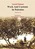 img - for Work and Customs in Palestine VI/2 (Translation of Gustaf Dalman Work & Customs in Palestine from German) book / textbook / text book