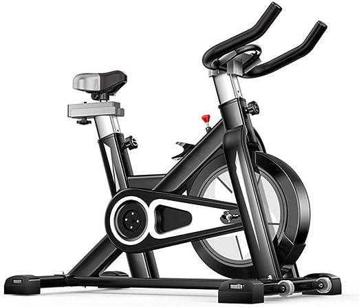 MIAO Equipo de Ejercicios para el hogar Bicicleta de Ejercicio Ultra silenciosa Deportes para Interiores Bicicleta para Adelgazar,Black-OneSize: Amazon.es: Hogar
